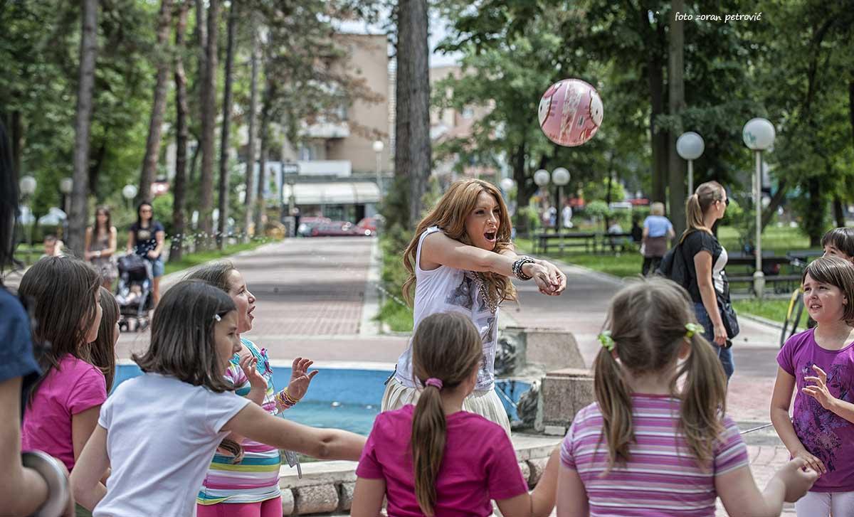 veliki park, deca, igra