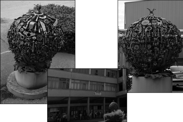 """Скулптура """"Ренесансе Ковачнице"""""""