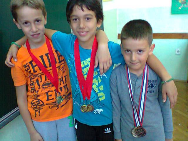 Jovan Stojković, Bata Jovović, Filip Đorđević