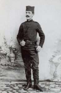 Vojnik Stanimir Vasić iz Gornjeg Milanovca, Živeo u Rajićevoj ulici. Nakon povratka iz rata preminuo 1919. godine