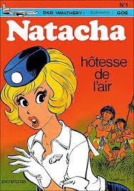 Natacha hotesse d'air
