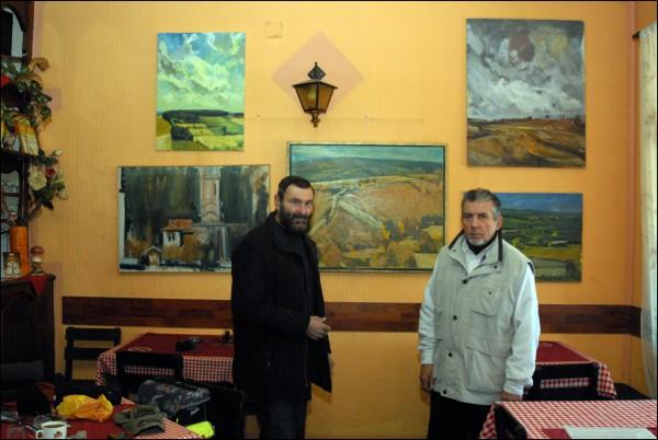 Капија Левча, Слава И јордан меркају зидове.