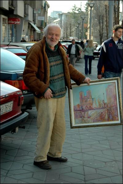 Сликар Крагујевца увек са сликама