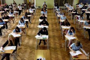 Pupils-sitting-an-exam