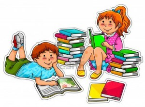 14226215-two-kids-reading-books