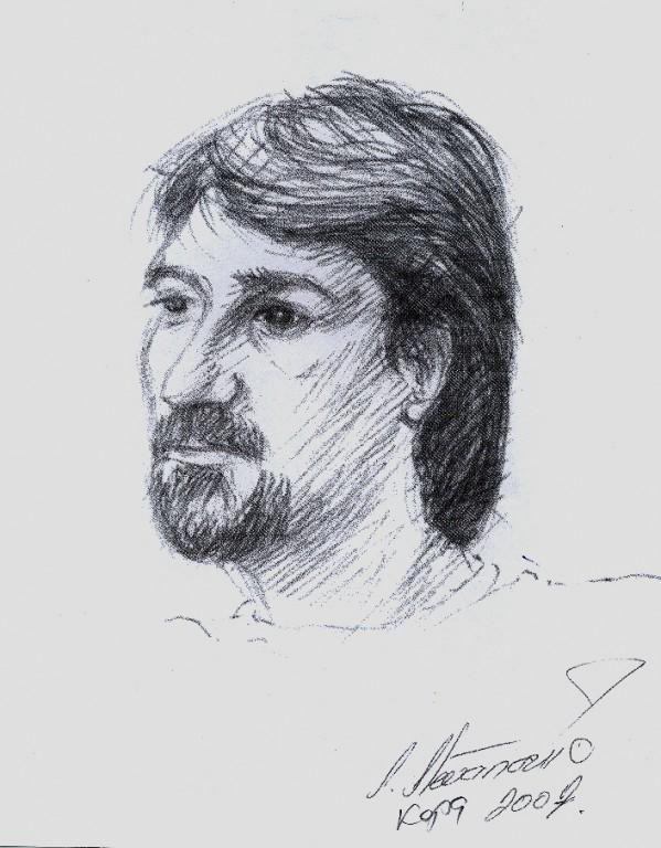 Кепа, портерет Владимира Тјапкина