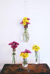 Dekorativne vazne od starih sijalica (2)