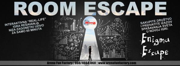 Room Escape Kragujevac | Arena Fun Factory