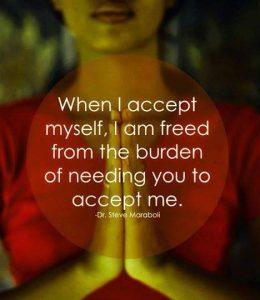 Prihvati sebe i svi ćete ostali prihvatiti.