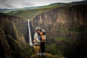 Africa's longest single drop waterfall 194m..