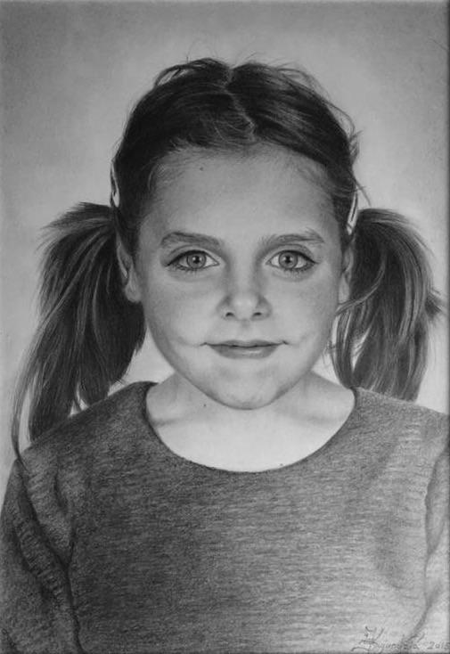 Portret devojčice