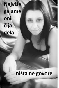 Aforizam i ilustracija Deana Sailović