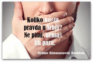 Aforizam  Srđan Simeunović Sendan Ikustracija Deana Sailović