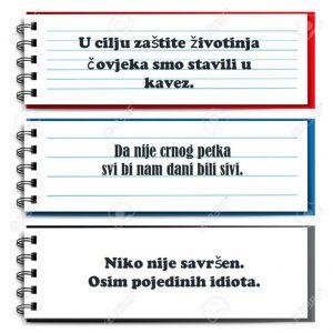 Aforizmi Perica Jokić Ilustracija Deana Sailović