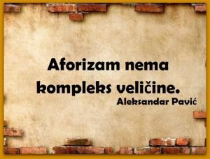 Skrenimo na pravi put Aleksandar Pavić