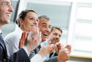 bigstock-Clapping-Business-People-46194028