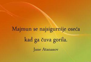 Skrenimo na pravi put Jane Atanasov