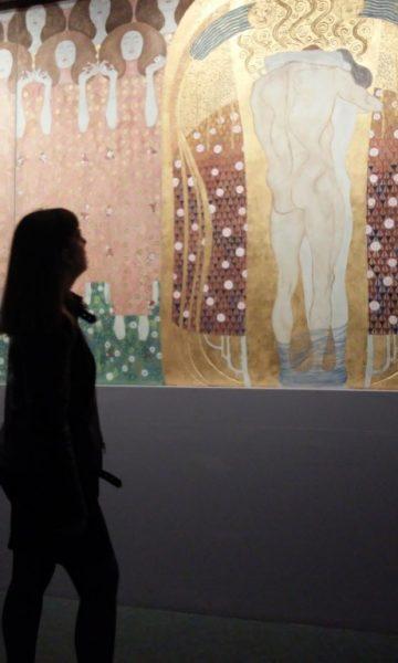 Exposicion Gustav Klimt Paris, foto: Snežana Ilić