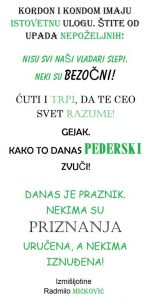 izmišljotine Radmilo Mićković