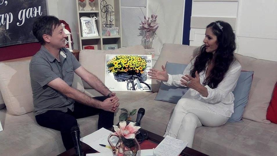 Sladjana Nedeljkovic i Goran Spasic-gostovanje RTV Vranje