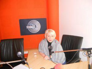 Violeta Aleksić na Studio B