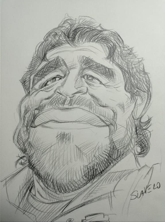 Maradona, fudbal