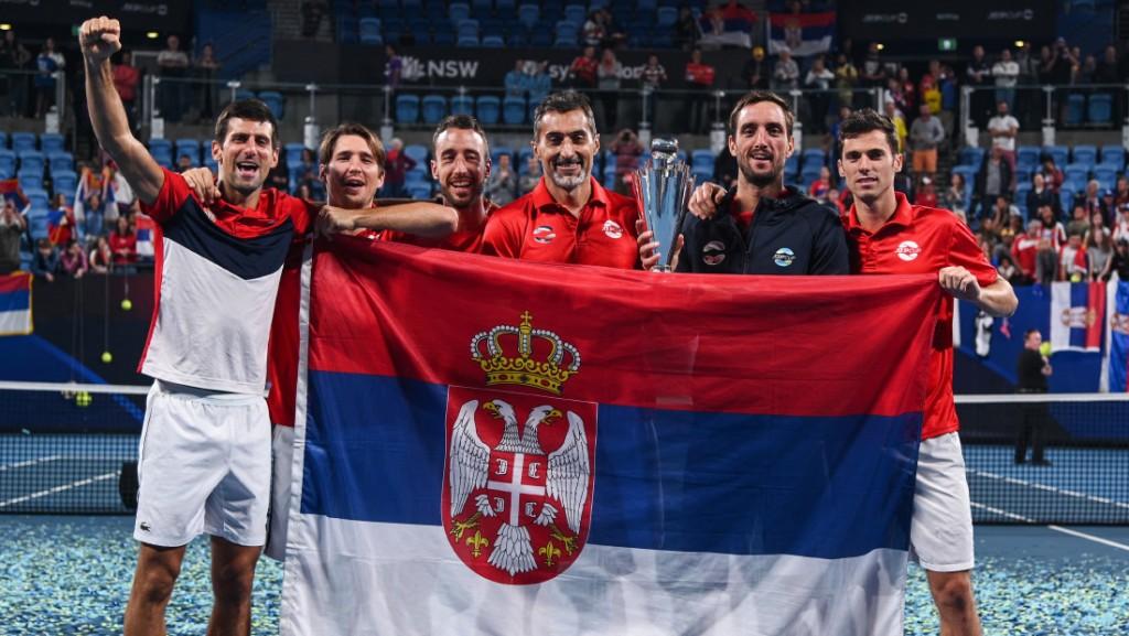 Srbija, tenis, zastava